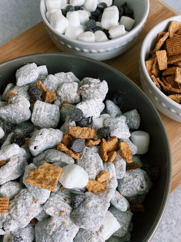 Puppy Chow Plate