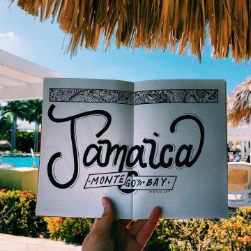 Jamaica Hand Lettering