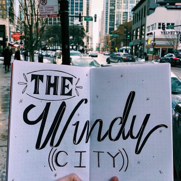 Chicago Hand Lettering