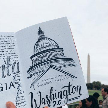 Washington D.C. Lettering