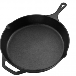 Skillet cast iron pan