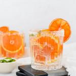 Spicy Orange and Jalapeño Margarita