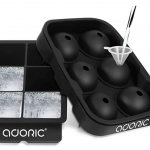two sets of large ice cube trays