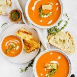 Homemade Tomato Soup (Fresh Tomatoes)
